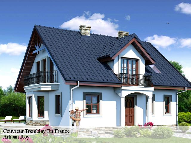 Couvreur  tremblay-en-france-93290