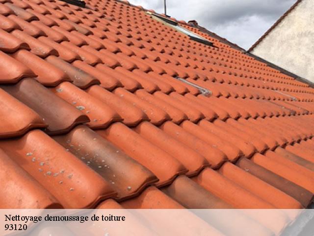 Nettoyage de toiture à La Courneuve Tèl : 01 85 53 26 83